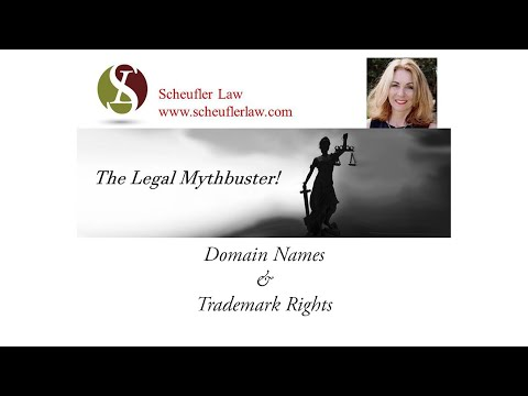 Legal Mythbuster: Domain Names and Trademark Rights