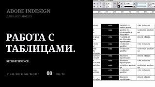 Уроки Adobe InDesign CS5 для начинающих №8 | Leonking