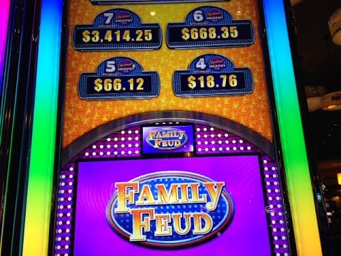 Family Feud Slot For The Money Free Spins Bonus Big Win - AGS
