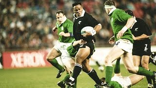Jonah Lomu's Inspirational RWC Debut | On This Day