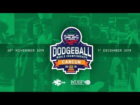 Day 5 :  AUSTRALIA Vs  USA WOMEN  Dodgeball World Championship Cancun 2019