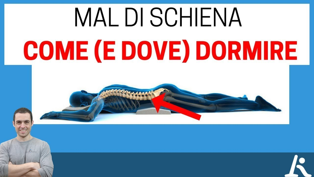 Mal di schiena come e dove dormire youtube for Dove dormire a casalecchio di reno