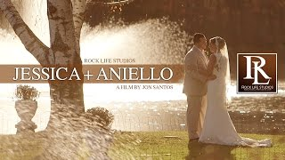 Jessica & Aniello - wedding at the barn at perona farms