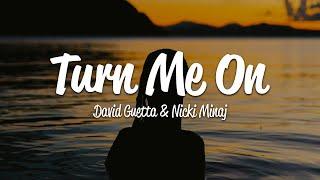 David Guetta - Turn Me On (Lyrics) ft. Nicki Minaj