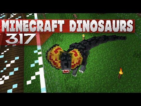 Minecraft Dinosaurs! || 317 || Dilophosaur Attack!