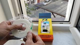 Siatka przeciw owadom na okno - Sposób na komary i muchy w mieszkaniu i domu