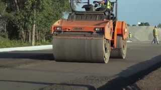 RCC (Roller Compacted Concrete) Paving