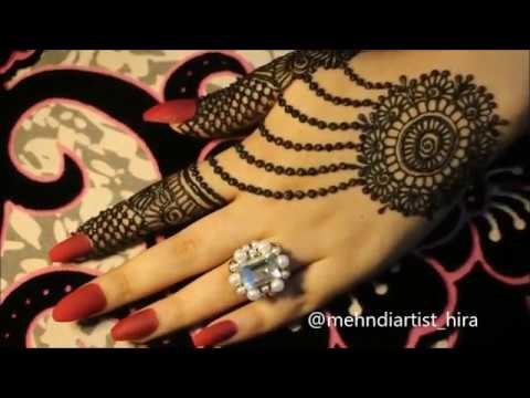Diy Beautiful Trendy Stylish Simple Henna Jewelery Ornamental Mehndi