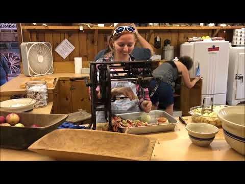 WORKING OLD KITCHEN AT FRYEBURG FAIR