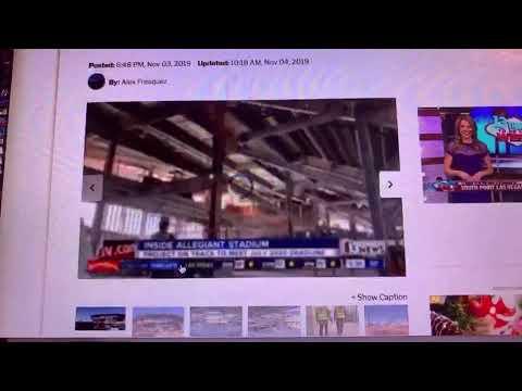 Las Vegas Stadium Authority Meeting 11-18-2019 On Raiders Stadium