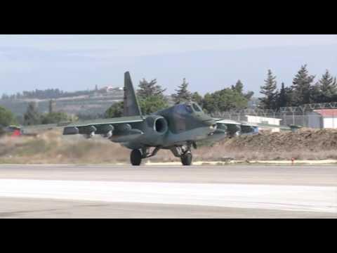 Су-25 Грач - бронированный штурмовик