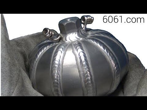 TIG Welding Aluminum Fabrication - Halloween Pumpkin