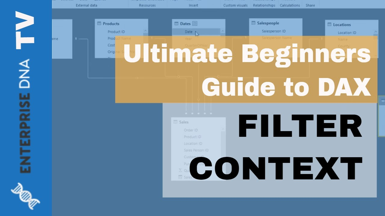 Filter Context - (1 9) Ultimate Beginners Guide to DAX