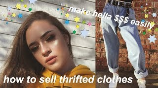 $$$ HOW I SELL THRIFTED CLOTHES ON DEPOP $$$