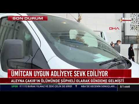 Ümitcan Uygun, adliyeye sevk ediliyor... Aleyna Çakır'ın ölümünden şüpheli olarak gündeme gelmişti