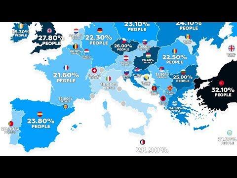 Obezite Haritası: Türkiye Avrupa'da Birinci Sırada