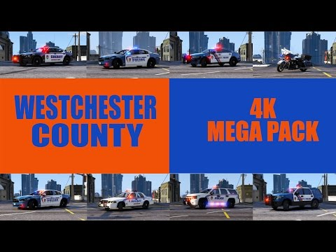 """LSPDFR Gameplay """"Westchester County, NY 4K Megapack"""" [ELS] (Grand Theft Auto 5)"""