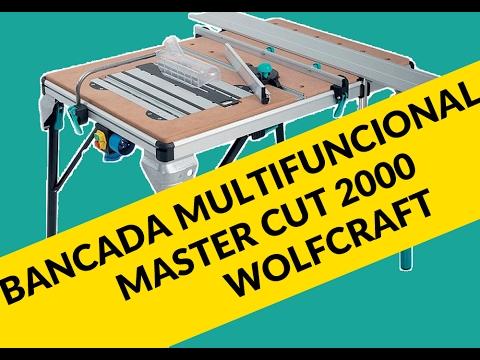 Bancada Para Marceneiro Multifuncional Master Cut 2000 Wolfcraft