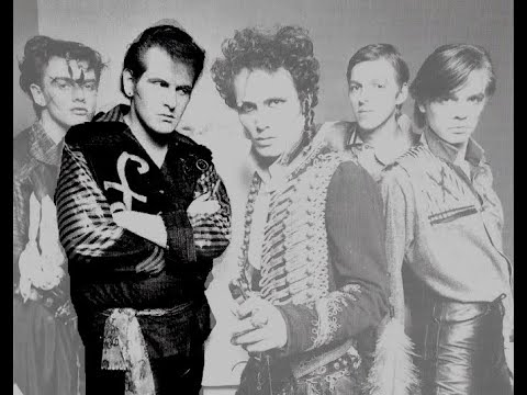 The guitars of Adam & The Ants:  Marco Pironni.