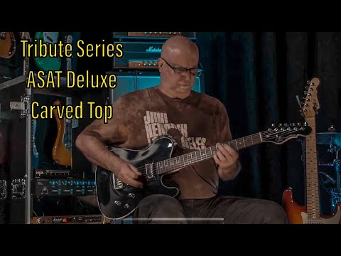 Tribute Series ASAT Deluxe Carved Top