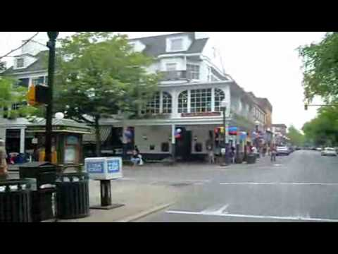 Penn State University College Avenue Video Tour - Downtown State College