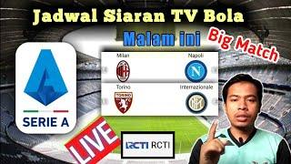 Jadwal bola malam ini liga Italia Live RCTI | Ac Milan vs Torino