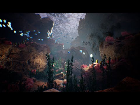 Ocean floor: Unreal Engine 4 - Environment Design - Open world Free assets - Sea - Underwater