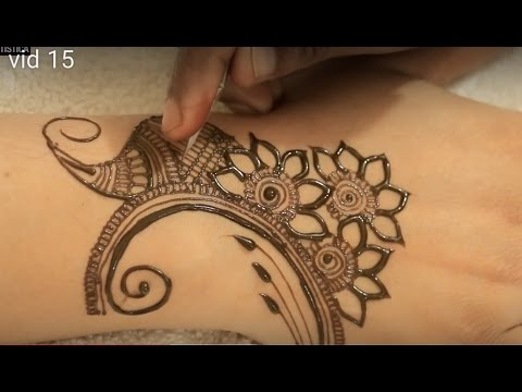 2017 Floral Mehndi Video Heena Mehendi Designs For Hands Youtube