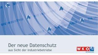 Datenschutz aus Sicht der Industrie