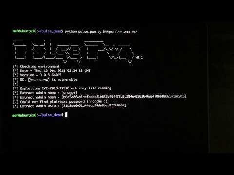 Attacking SSL VPN - Part 3: The Golden Pulse Secure SSL VPN