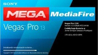 SONY Vegas PRO v13.0.453 Actualizado 2018 Full Español Licenciado + Crack 1 Link Mega o MediaFire