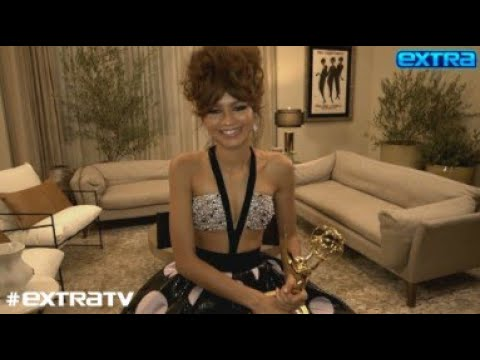 Emmys 2020: Zendaya reacts to her historic 'Euphoria' win