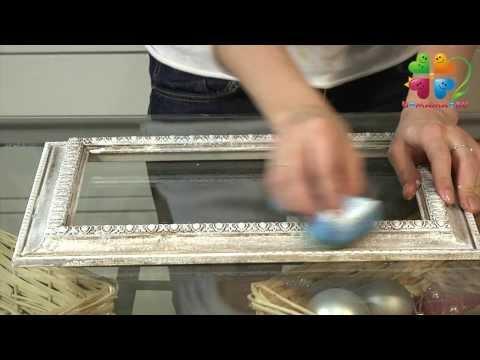 Как сделать состаренную рамку для картины