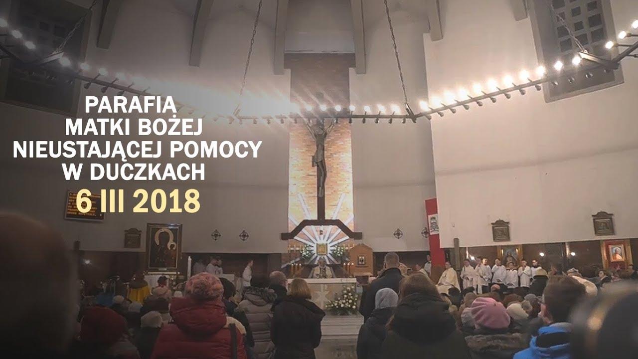 Peregrynacja obrazu MB Częstochowskiej – Duczki (6 III 2018 r.)