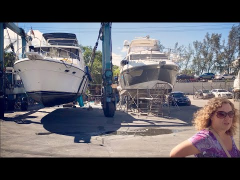 Living on the Hard - Update from the Boat Yard [Live Archive]