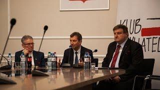 Klub Obywatelski. Andrzej Halicki i Krzysztof Król w Ostrowi Mazowieckiej
