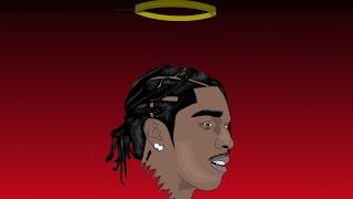 A$AP Rocky cartoon speedart (Adobe Draw)