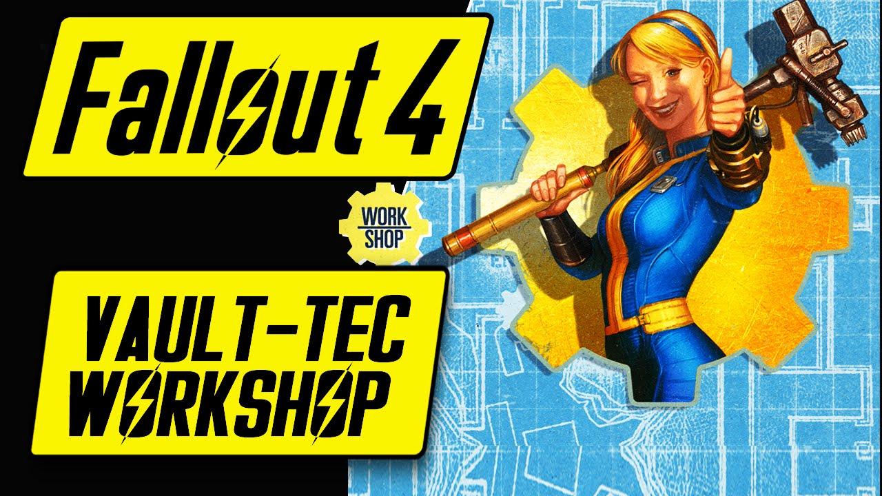Fallout 4 Vault Tec Workshop Dlc Features Overview Fallout 4 Workshop Dlc Vault 88 Youtube