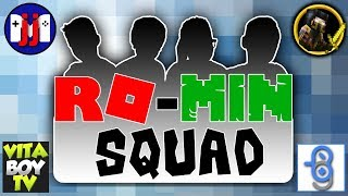 Ro-Min Squad Roblox Death Run Challenge | GamerBoy JJM | VitaBoy TV | Golden Ninja 50
