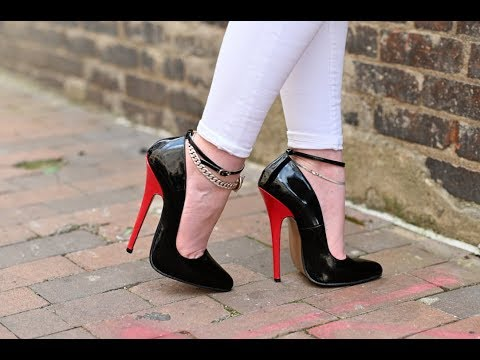 Peter Chu ArchEnemy Super Arch 16cm Single Sole Heels Walk from YouTube · Duration:  2 minutes 37 seconds