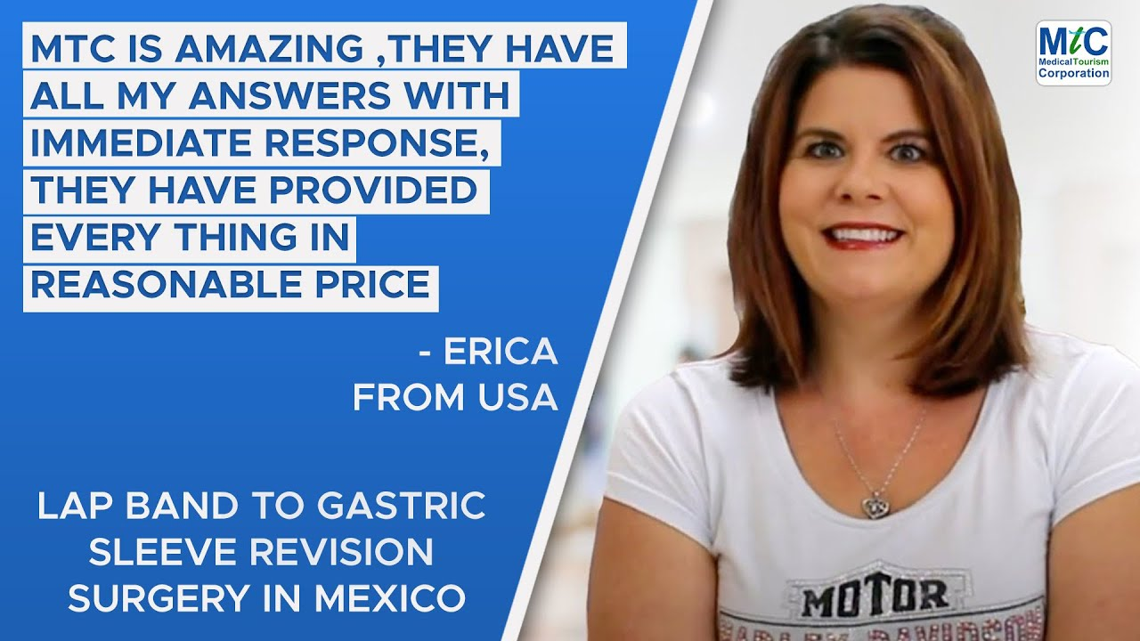 Erica Reviews Lap Band to Gastric Sleeve Revision in Tijuana, Mexico