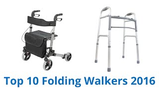 Click for wiki ►► https://wiki.ezvid.com/best-folding-walkers?id=ytdesc folding walkers reviewed in this wiki: homcom medical duro-med dmi hugo mobility side...