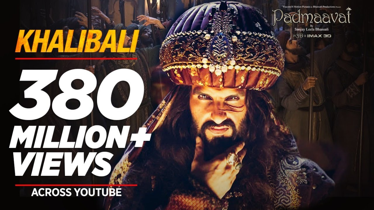 Download Padmaavat: Khalibali - Ranveer Singh | Deepika Padukone | Shahid Kapoor | Shivam Pathak