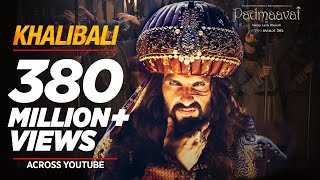 Khalibali Video Song | Padmaavat (2018)