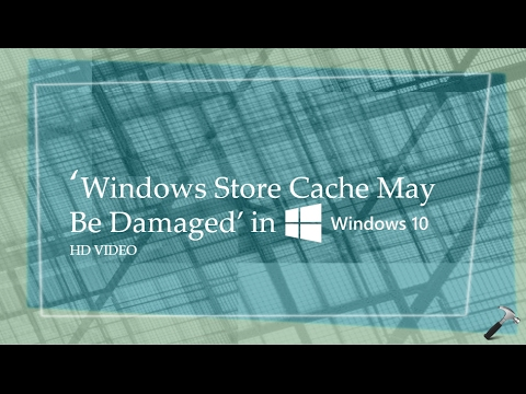 how to clear cache in windows store