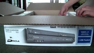 Panasonic DMR-EZ49VEBK DVD Recorder *UNBOXING*