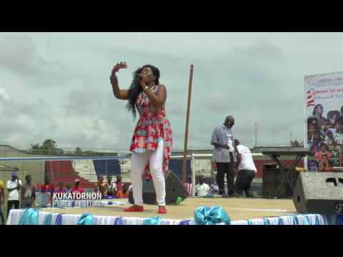KUKATORNON PEACE FESTIVAL 2016 : ORGANIZED BY LIBERIA CRUSADERS FOR PEACE - MONROVIA, LIBERIA