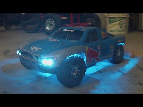 Traxxas Slash Custom Red Bull Body