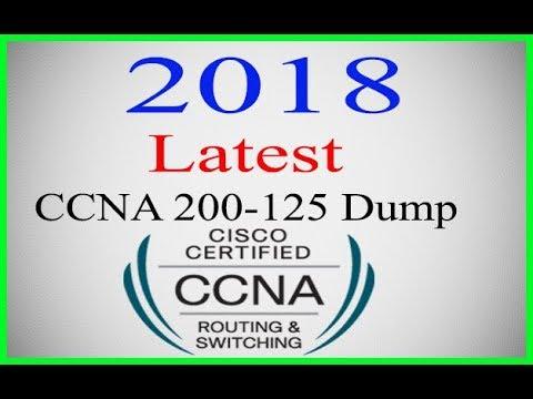 Latest CCNA 200-125 (V3 0) dump 2018