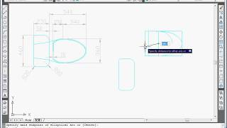 AutoCAD Exercise - Draw a toilet Tutorial